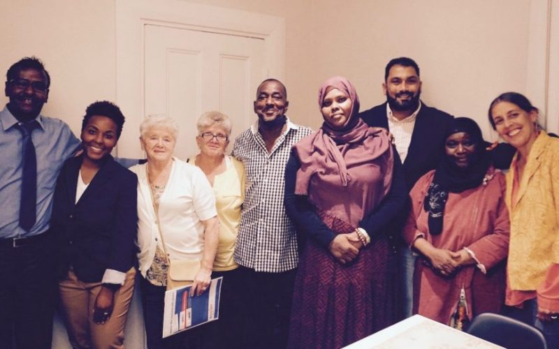 Several Parents For Peace members gather together to end extremism
